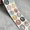 Thumbnail: kleine Zahlen- Sticker 12 Stk