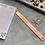 Thumbnail: Lineal Metall 15 cm rosegolden