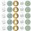 Thumbnail: Most wonderfull time Sticker Mint 10 Stk. NEW´21