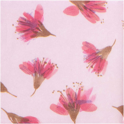 Seidenpapier Blüte 5 Blätter