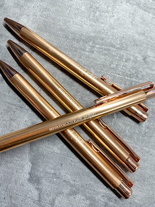 Kugelschreiber Roségold