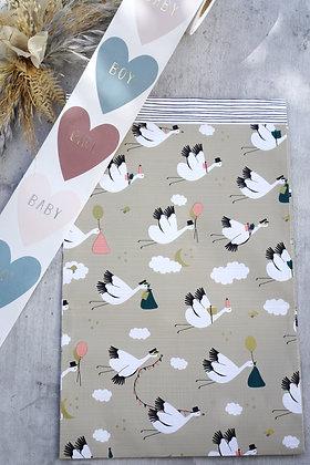 BabyBird Papiertasche M / L (10 Stück)