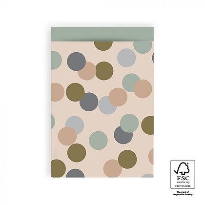 Boho Dots Geschenkpapier Taschen M