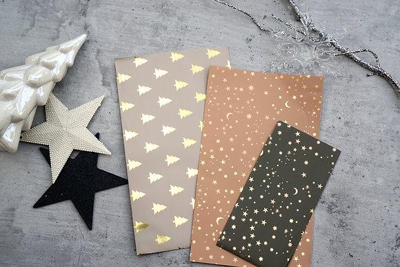 Nude Boho Metallic Stars Taschen S/M/L