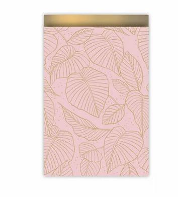 Leaf Rose Papiertaschen M
