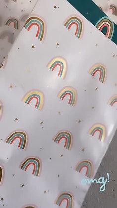 Regenbogentasche S / M