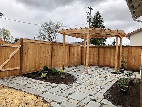 Landscape Consult, Pergola, Stone, Garden Beds
