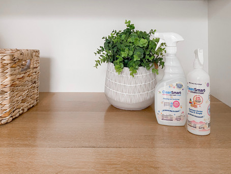 Let's clean with clean ingredients!