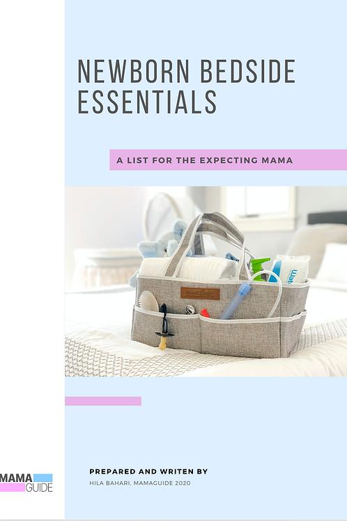 Newborn Bedside Essentials