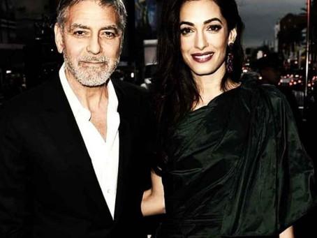 George Clooney y su esposa Amal donan a varias organizaciones para combatir el Covid-19