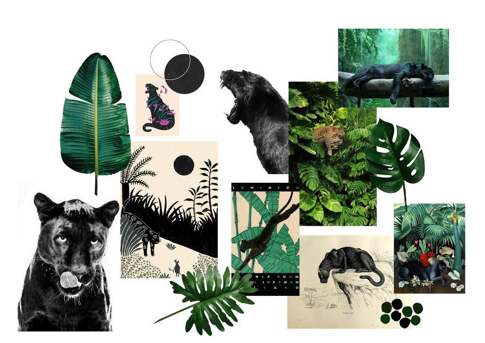 Panther Moodboard