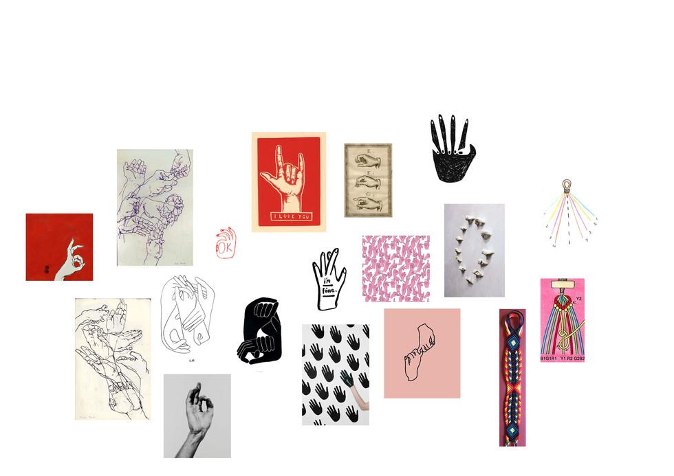 Sign Language Moodboard