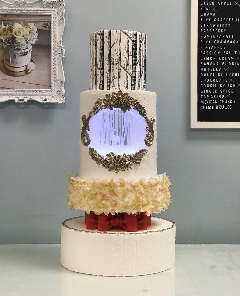 Wedding or Christmas Cake Design