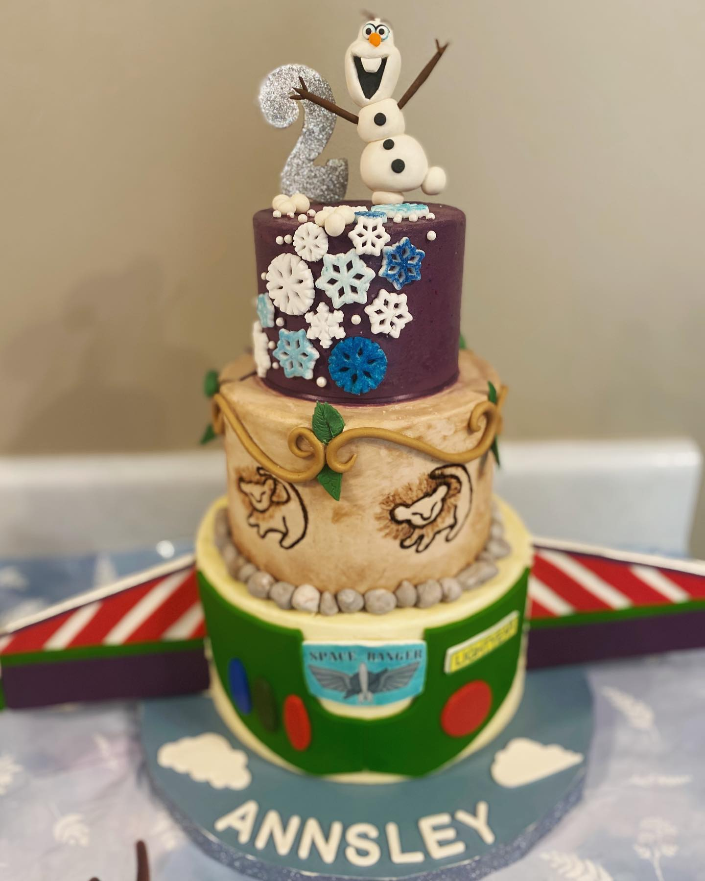 Cartoon Designs Cake