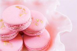 Perfectly Pink French Macarons