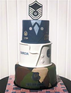 Military Career Cake