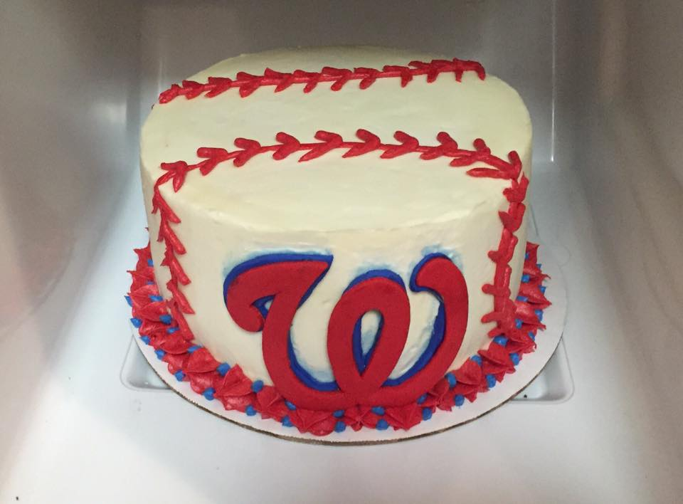 Washington Nationals Groom's Cake