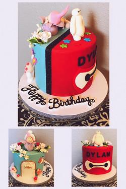 Double Sided Birthday Cake