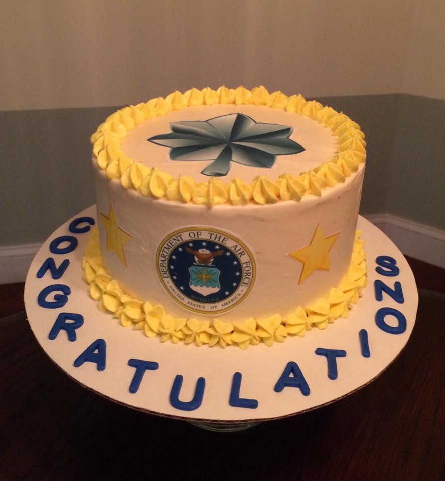 USAF Promotion Cake