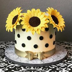 Sunflower Cake