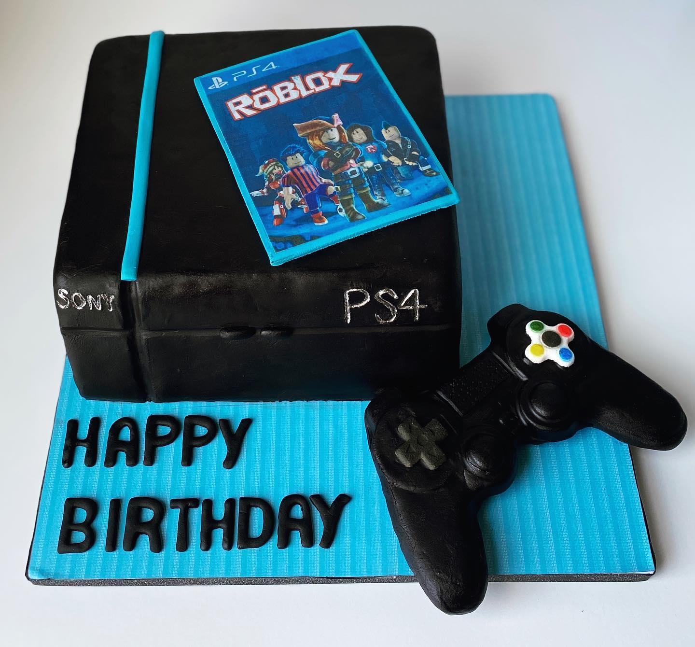 Game Console Cake