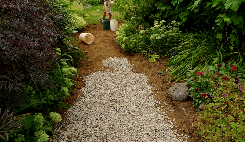 Converting a small or sorry lawn to a garden