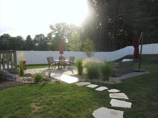 "My ""faux bridge"" patio design"