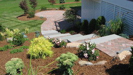 paver steps and patio in CT