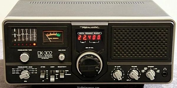 Realistic DX-302 Receiver