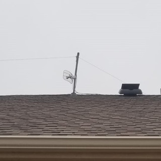 Finished Roof Vent Antenna