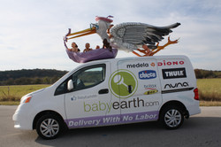 Baby Earth Vehicle Sculpture