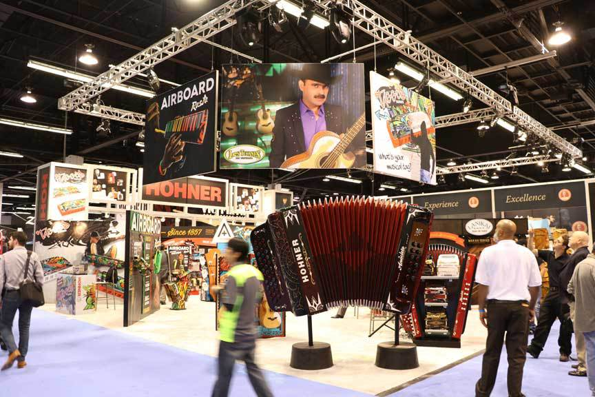 Hohner Accordion NAMM Conference