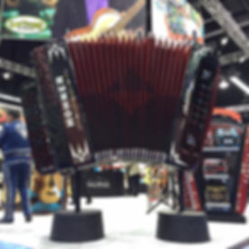 Hohner Accordion. NAMM Conference 2015