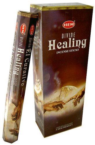 Healing Divine Incense Sticks - Hex 20 pack