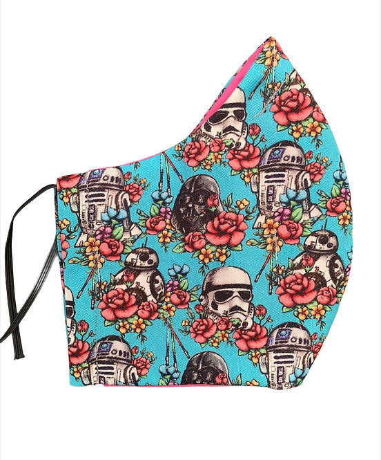 Adult Small/ Teen - Star Wars Floral