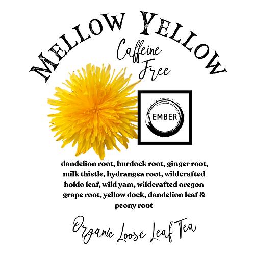 Organic Mellow Yellow (Liver Cleansing Tea)