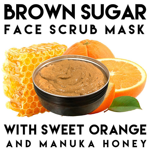 Brown Sugar Face Scrub Mask 120g