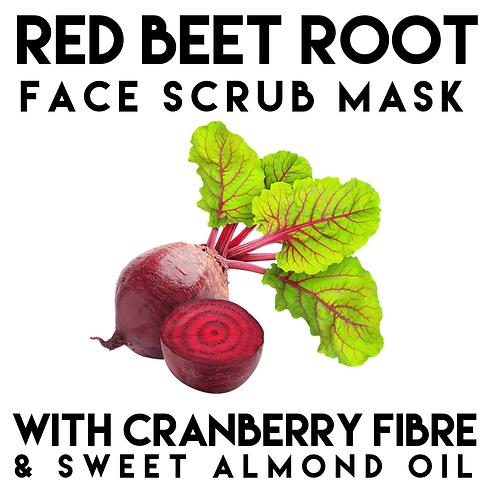 Red Beet Root Scrub Mask