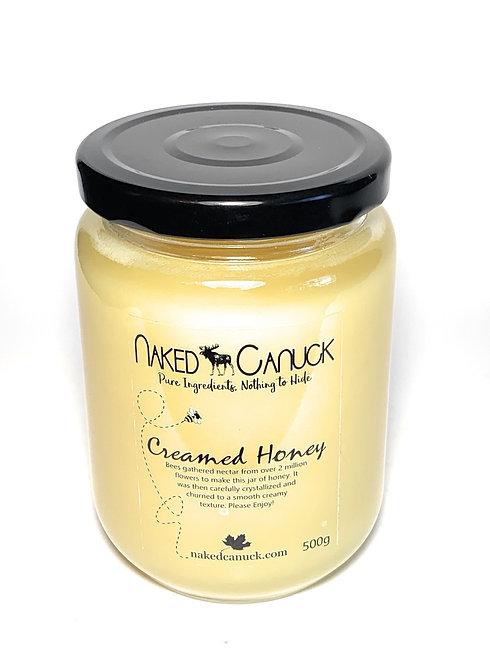 Naked Canuck Creamed Honey