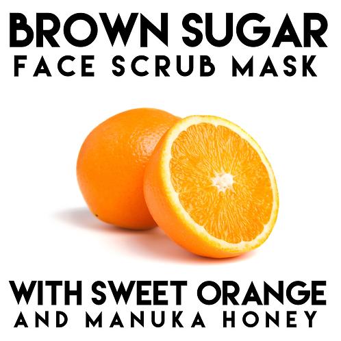 Brown Sugar Face Scrub Mask 120g