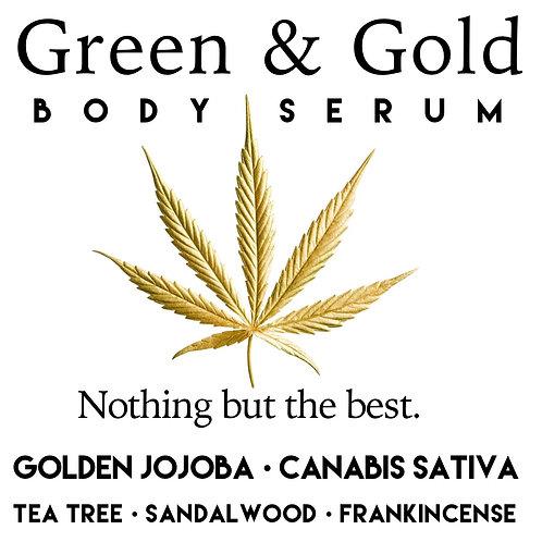 Green & Gold Body Toning  Serum 60ml