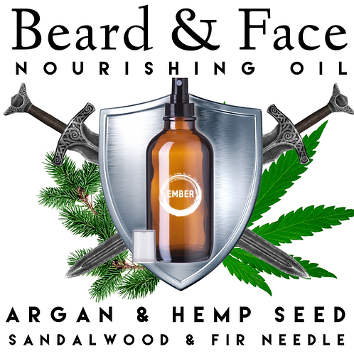 Beard & Face Nourishing Oil 30ml