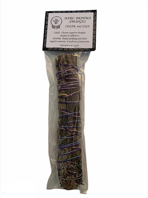 Cedar & Sage Cleansing Stick