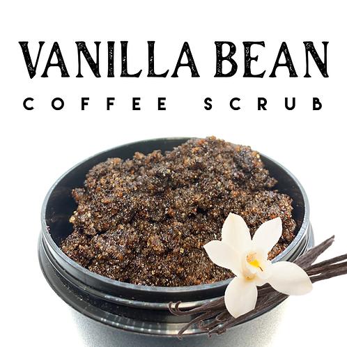 Vanilla Bean Coffee Scrub 250g
