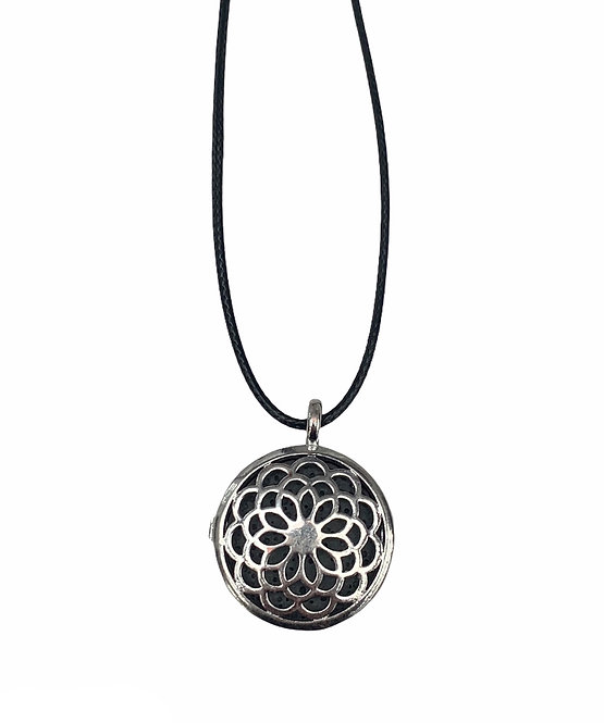 Aromatherapy Necklace - Flower of Life