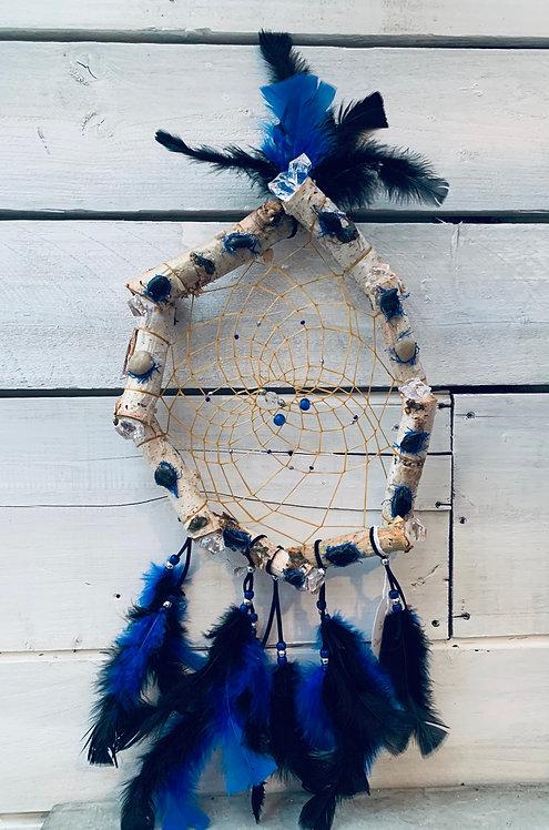 Dreamcatcher - Blue & Black