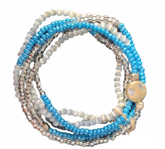 Multi Beaded Bracelete