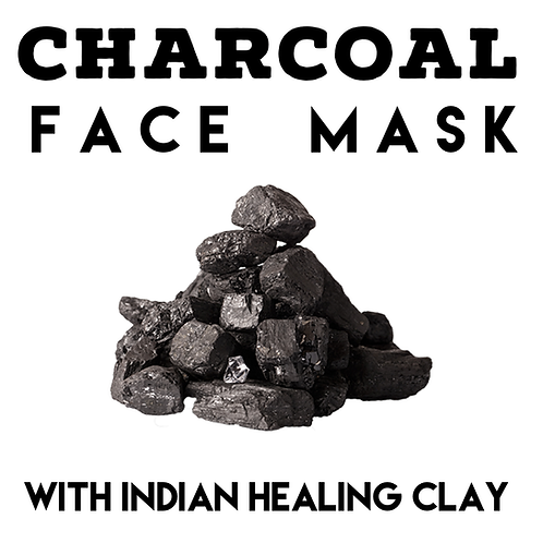 Charcoal & Clay Face Mask 50g