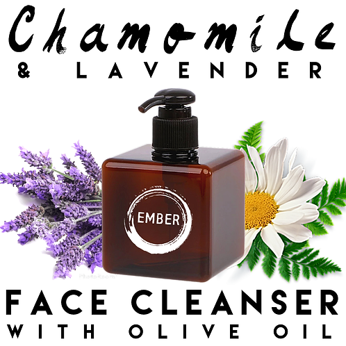 Chamomile & Lavender Face Cleanser