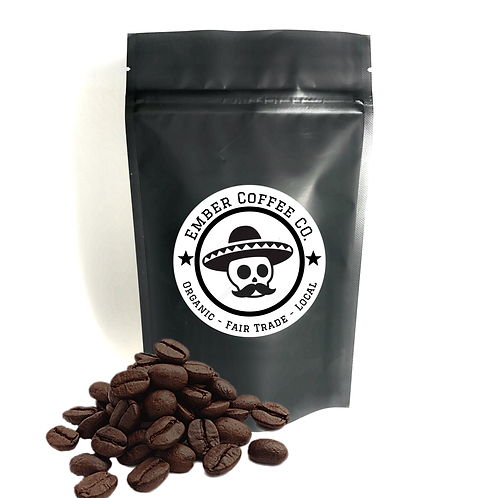 Organic Espresso, Whole Bean 1lb (454g)